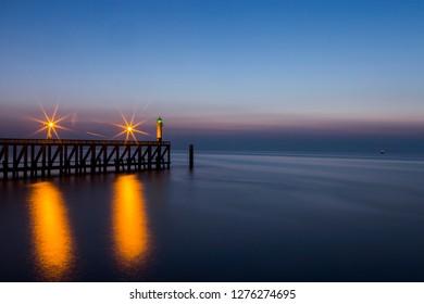 Blankenberge Pier Coast
