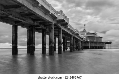 Blankenberge/Belgium - August 16 2018: Blankenberge pier
