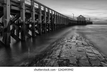 Blankenberge/Belgium - August 17 2018: Blankenberge pier