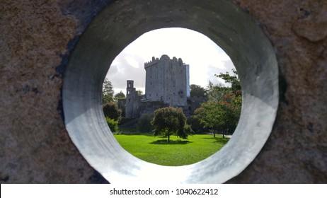 Blarney Castle in a circle