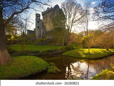 Blarney Castle, Co.Cork, Ireland, home of world famous Blarney Stone
