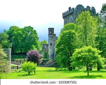 Blarney Castle, Ireland, home of the famous Blarney Stone.