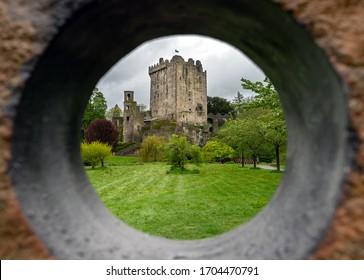 The Blarney castle near Cork in Ireland.