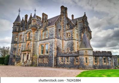 Blarney House at castle gardens - Co. Cork - Ireland