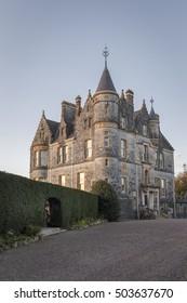 Blarney House in County Cork, Ireland.