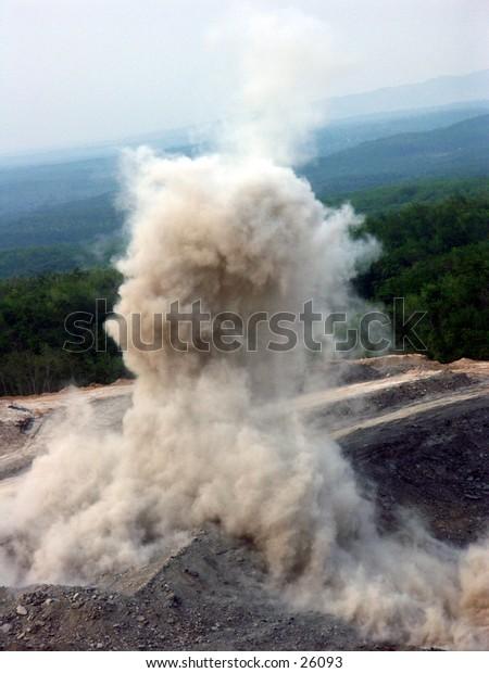 Blasting, bomb for coal mining