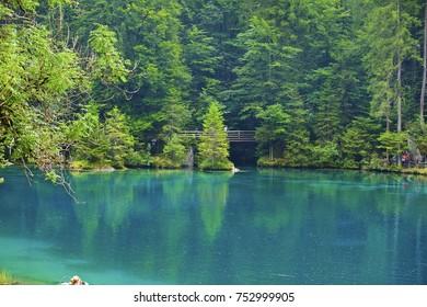 Blausee Berner Oberland Switzerland