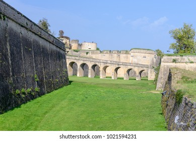 Blaye Citadel, a UNESCO world heritage site in Gironde, France