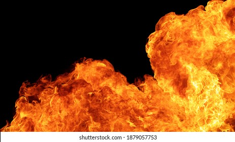 blaze fire flame conflagration texture background in full hd aspect ratio