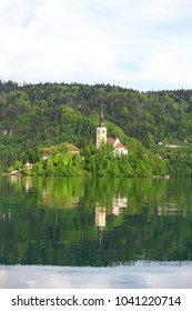 Bled Castle is the attraction at Bled Lake