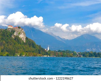Bled Castle in Bled Slovenia
