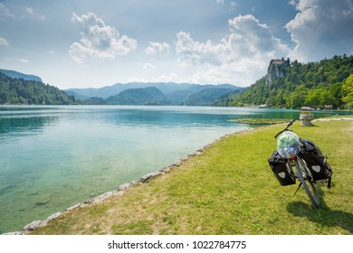 Bled lake, Slovenia.