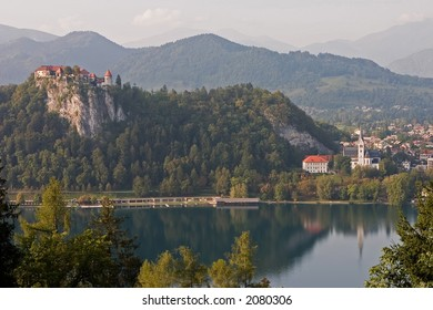 Bled Lake, Town and Castle, Color