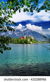 Bled is a town on Lake Bled in Slovenia. It is most notable as a popular tourist destination in the Upper Carniola region and in Slovenia as whole, attracting visitors from abroad too.