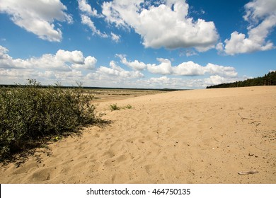 Bledowska Desert in Chechlo (Poland)