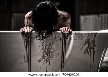 Undressed girl pic during bleeding amusing