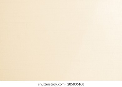 Blended cotton silk fabric wallpaper texture pattern background in light yellow cream beige color