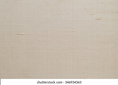 Blended Cotton Silk Fabric Wallpaper Texture Pattern Background In Light  Pale Cream Sepia Beige Color