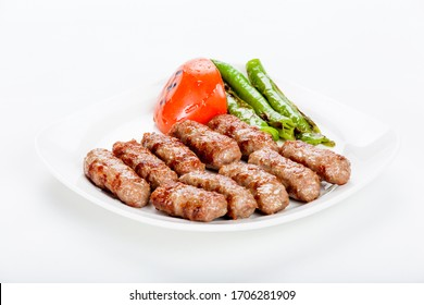 Blending beef and lamb meat and grilling it is a Turkish flavor
