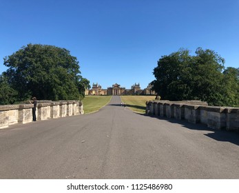 Blenheim palace, England, Woodstock village, June 2018