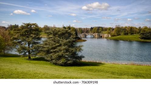Blenheim Palace grounds, Woodstock, Oxfordshire UK