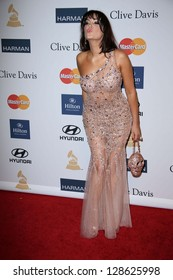 Bleona at the 2013 Clive Davis And Recording Academy Pre-Grammy Gala, Beverly Hilton Hotel, Beverly Hills, CA 02-09-13