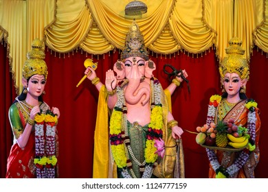 Blessing Ganesha. The Royalness of Lord  is unbeatable.