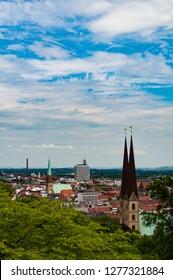 Blick über Bielefeld