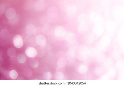 Blight pink abstract backgrounds with bokeh.