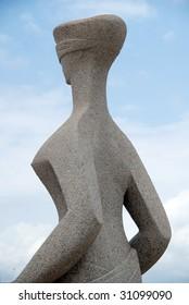 Blind justice statue, Supreme Court, Brasilia