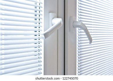 blinds on the windows