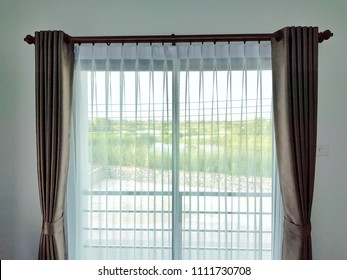 blinds window interior of house