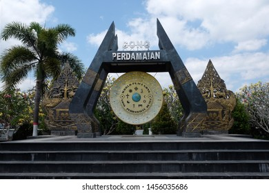 Blitar - east java, Indonesia. July 10, 2019. World peace gong (gong perdamaian)