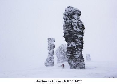 Blizzard on the plateau Manpupuner