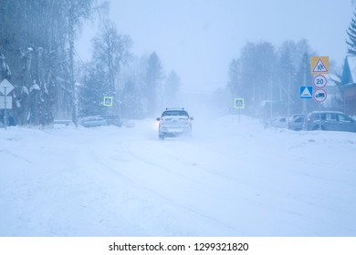 blizzard in the streets