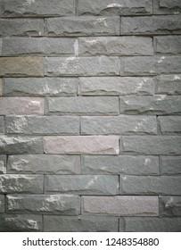 Block brick as background image.
