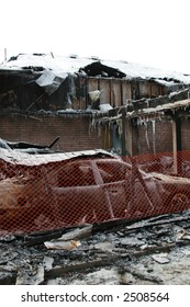 A block  car heater caused this house fire. Everything was destroyed