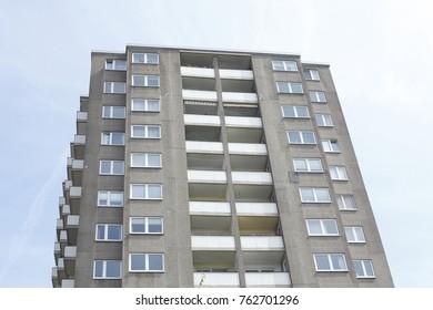 Block of Flats, balconies