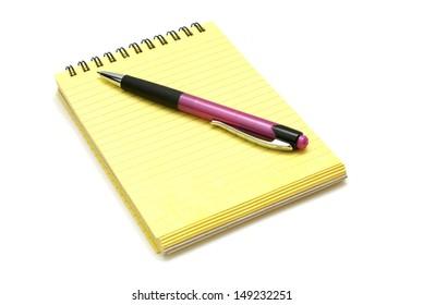 Block with pen