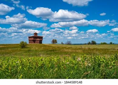 Blockhouse at Fort Abraham State Park