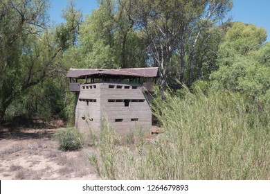 Blockhouse fortifications used in the Anglo =Boer war