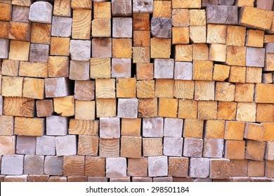 blocks of wood background