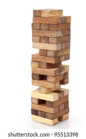 3d9c43abd3aa4 Wooden Block Tower Game Images, Stock Photos & Vectors   Shutterstock