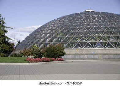 The Bloedel Floral Conservatory in Vancouver, British Columbia, Canada, is a conservatory and aviary located at the top of Queen Elizabeth Park. Located 500 feet (150 m) above sea level.