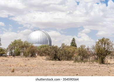 BLOEMFONTEIN, SOUTH AFRICA, DECEMBER 21, 2015: The historic Lamontâ??Hussey Observatory building on Naval hill, now a digital planetarium