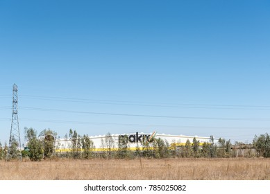 BLOEMFONTEIN, SOUTH AFRICA, JANUARY 1, 2017: The Makro wholesale retailer warehouse in Kwaggafontein, a suburb of Bloemfontein