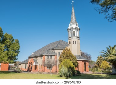 BLOEMFONTEIN, SOUTH AFRICA - JULY 19, 2015: Building of the Dutch Reformed Church Bloemfontein West