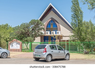 BLOEMFONTEIN, SOUTH AFRICA, NOVEMBER 12, 2015: The Seventh Day Adventist Church in Universitas, a suburb of Bloemfontein, the capital of the Free State Province