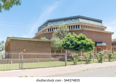 BLOEMFONTEIN, SOUTH AFRICA, NOVEMBER 27, 2015: The Seventhday Adventist Church in Hilton, a suburb of Bloemfontein, the capital city of the Free State Province