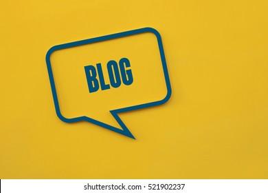 Blog, Technology Concept